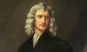 Trump card … Isaac Newton.