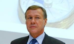 Martin Senn, the former CEO of Zurich Insurance.