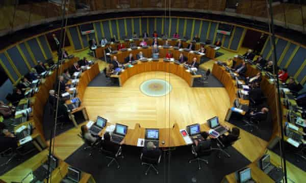 The Welsh assembly, in Cardiff Bay.