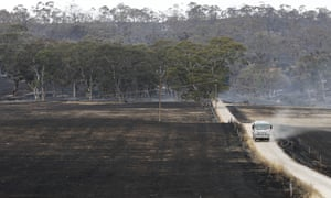 The Cudlee Creek fire has burnt through 25,000 hectares within a 127 kilometre perimeter in the Adelaide Hills.