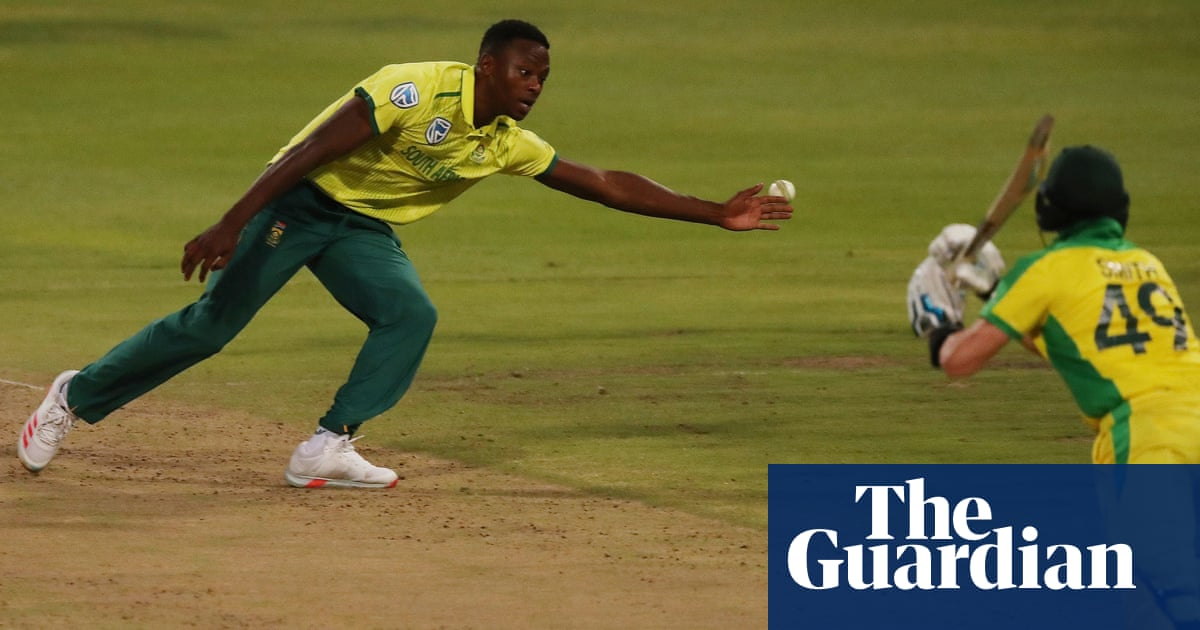 Rabada reiterates BLM support while South Africa team opt not to take knee