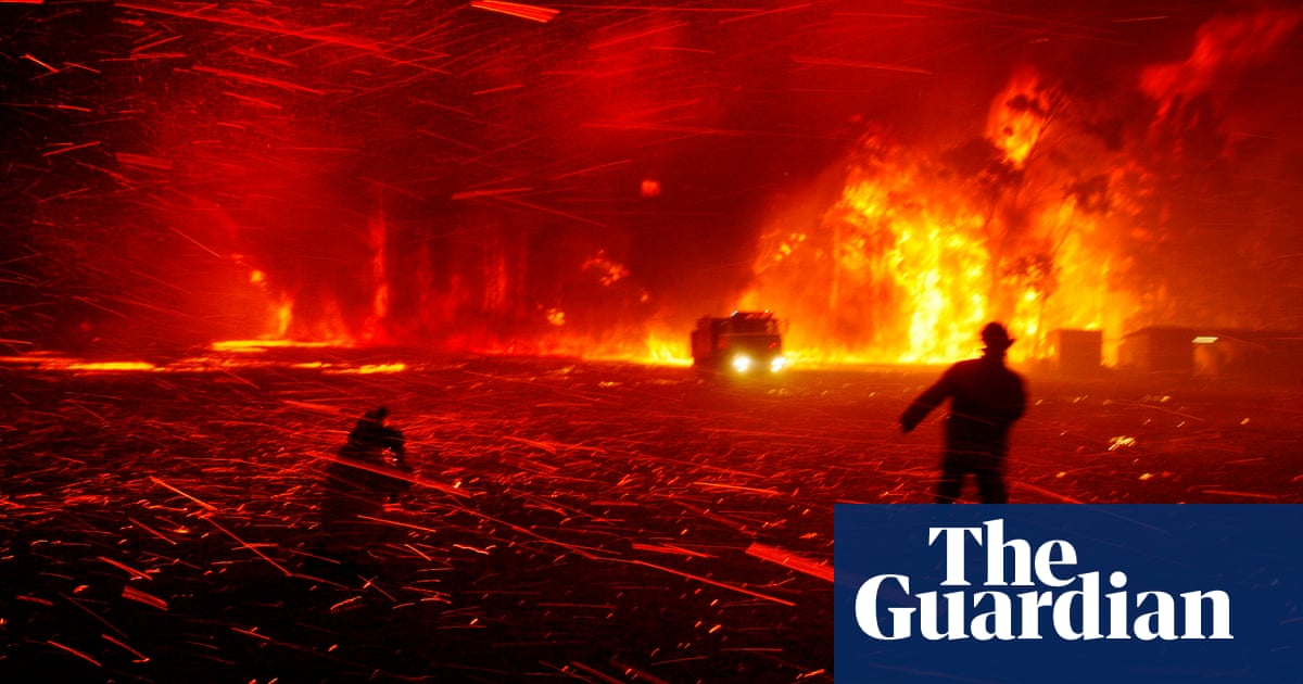 From firestorms to dinner with Trump: Guardian Australias best news photos of the year