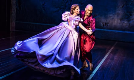 Kelli O'Hara and Ken Watanabe in The King and I.