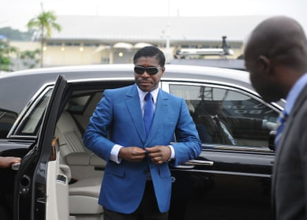 Teodoro Nguema Obiang Mangue, the son of Equatorial Guinea's president, in Malabo, the country's capital, in 2013.