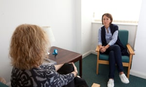 A therapy session at Stevenage Psychotherapy unit