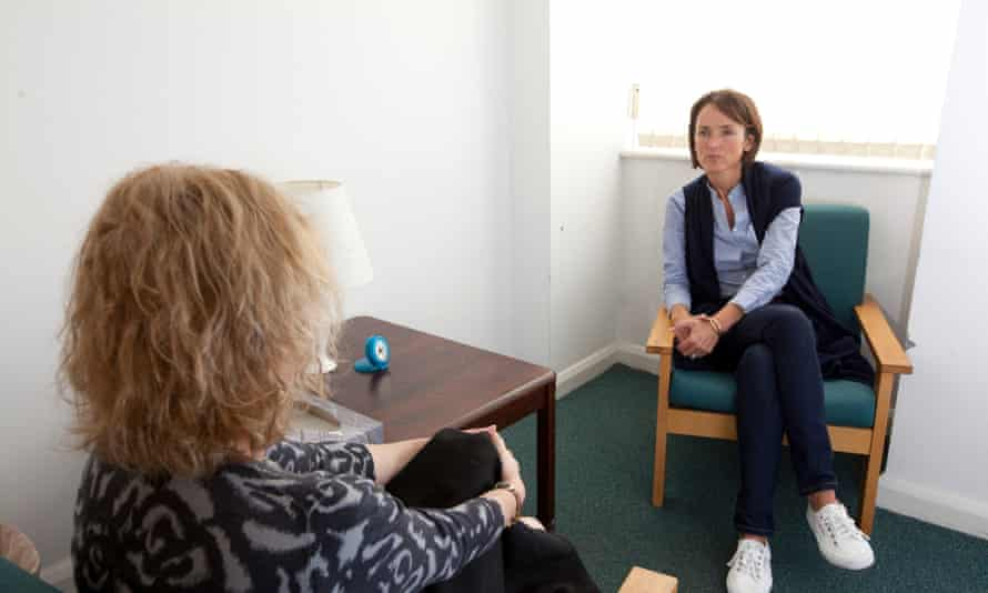 A therapy session at Camden Psychotherapy unit