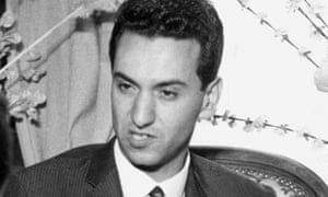 Hocine Aït Ahmed in 1963, after he had created Algeria's first opposition party, the Socialist Forces Front.
