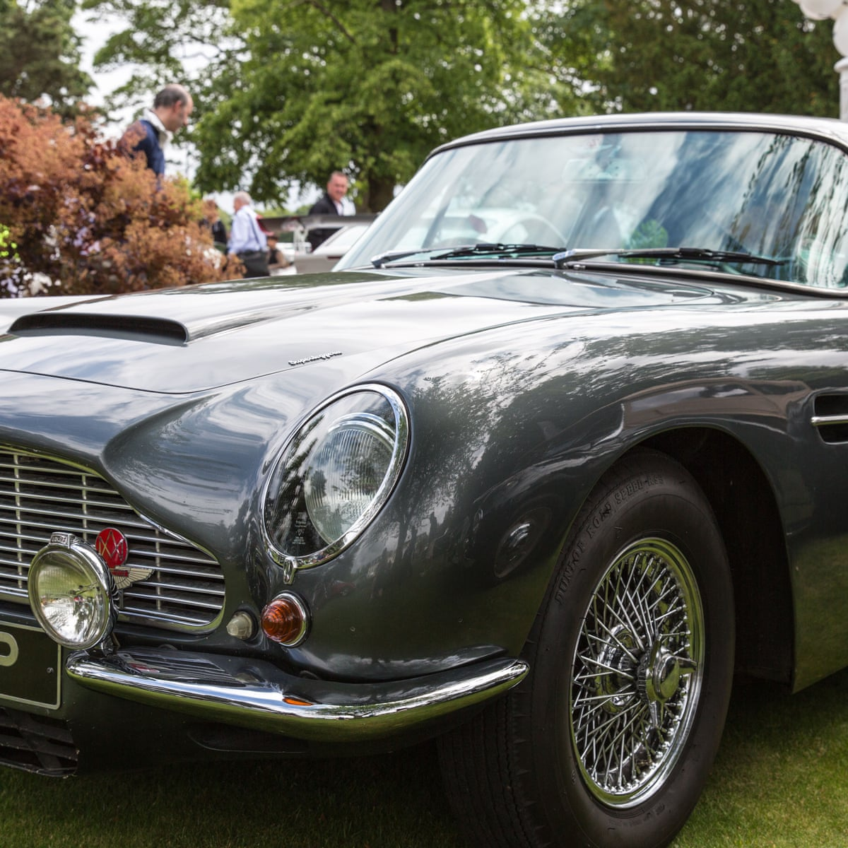 James Bond Aston Martin Db5 Sold At Auction For 5 2m James Bond The Guardian