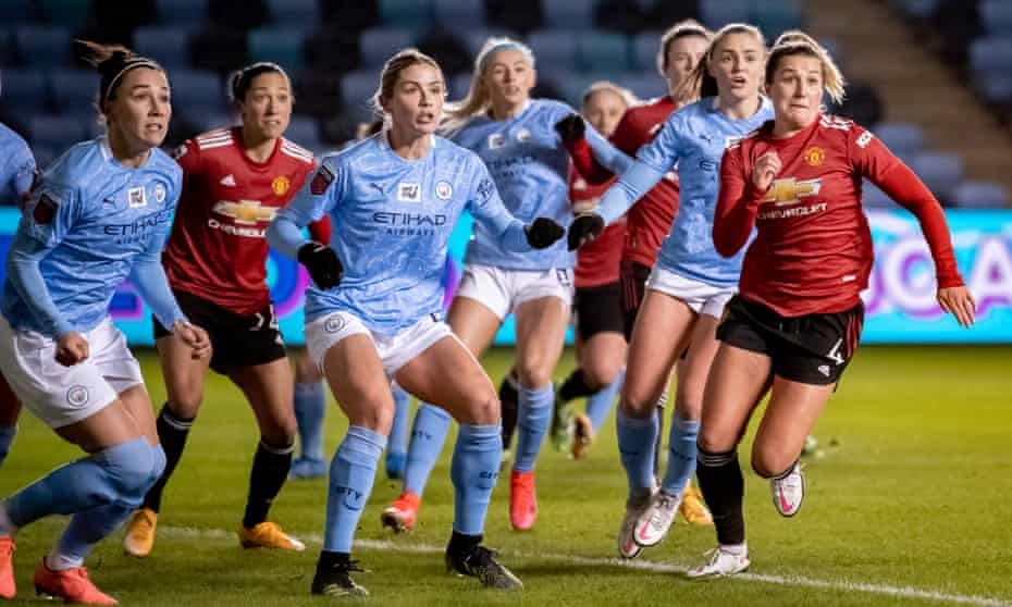 The Manchester derby in the WSL.