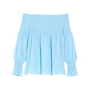 Blue, £160, by Maje, from net-a-porter.com.
