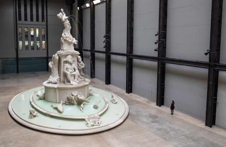 A final look at Fons Americanus, Kara Walker's Turbine Hall commission as the Tate Gallery went into lockdown.