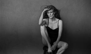 Julianne Moore posing for the new Pirelli calendar: 'It isn't change at all. It isn't new, it isn't different.'