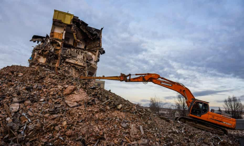 Should we start thinking of buildings as material depots, full of reusable resources for the next construction project?