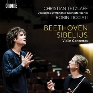 Tetzlaff: Beethoven and Sibelius Concertos album art work