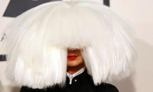 Australian singer Sia.