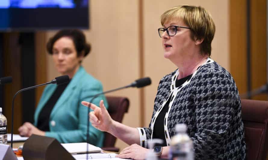 Australia's NDIS minister Linda Reynolds