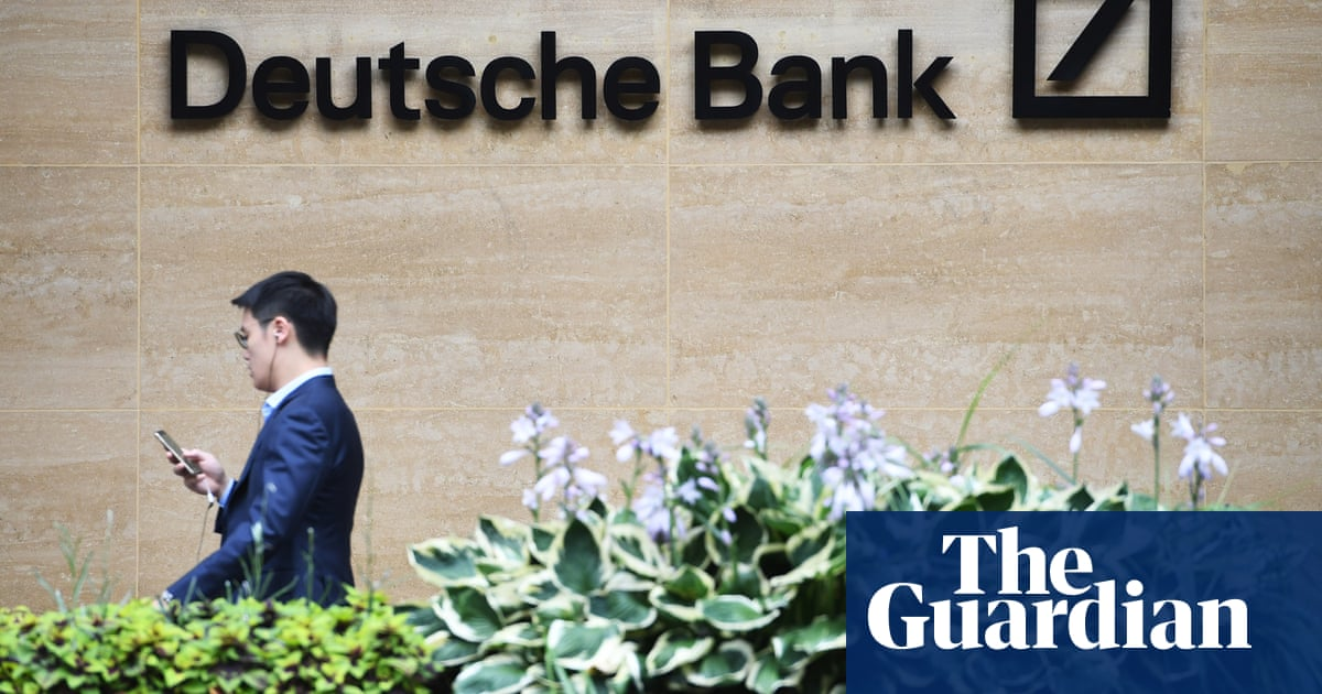 Deutsche Bank bosses fitted for £1,200 suits as thousands