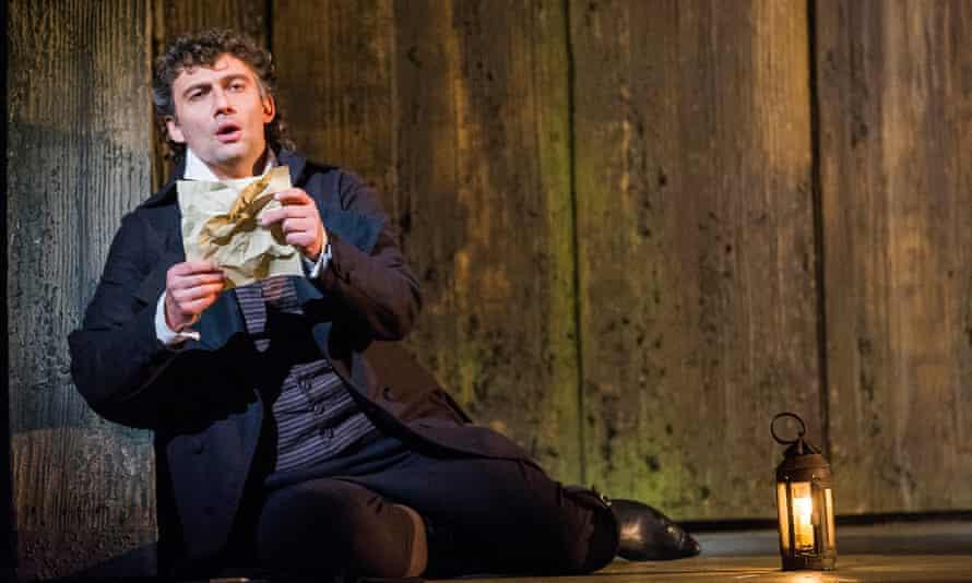 Jonas Kaufmann as Andrea Chenier at the Royal Opera House.