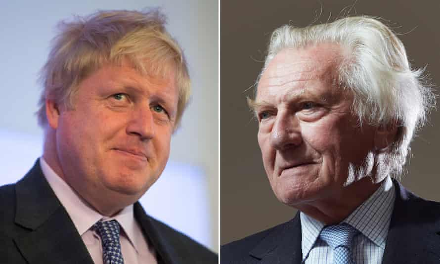 Michael Heseltine criticised Boris Johnson for comparing EU policies to Hitler's attempt to conquer Europe.