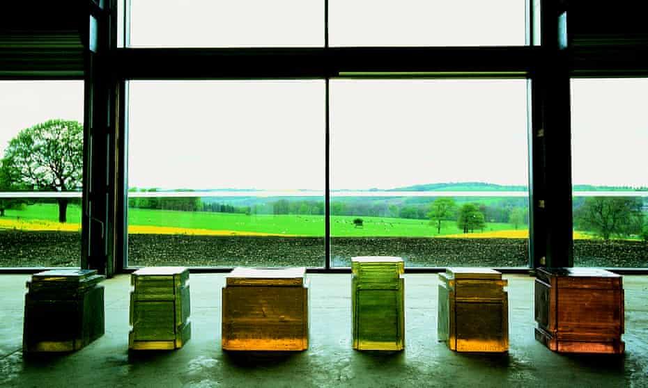 Rachel Whiteread's Untitled (6 Spaces), 1994.