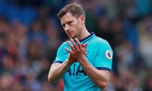 Jan Vertonghen made more than 300 appearances for Tottenham.