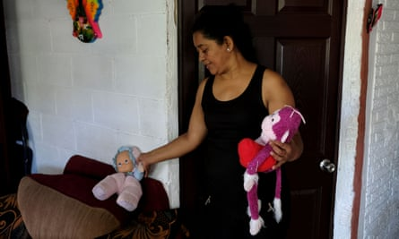 """Rosa Ramírez, mother of Óscar Alberto Martínez Ramírez, said she had """"an ugly premonition"""" when her son said he was taking his family to the US."""