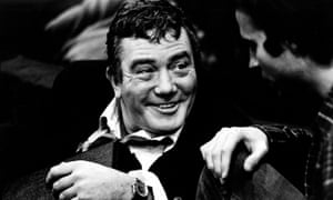 Albert Finney in Orphans at the Hampstead Theatre, Swiss Cottage, London on 8 March 1986