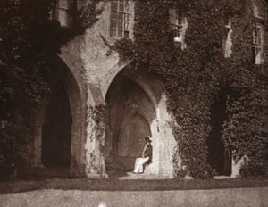The Ancient Vestry, Calvert Jones in the Cloisters at Lacock Abbey, 1843