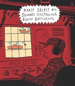 Berger & Wyse on captcha – cartoon