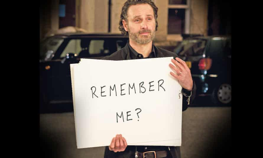 New message … Andrew Lincoln.