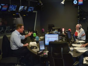 London, UKThe former prime minister David Cameron is interviewed by John Humphrys on BBC Radio 4's Today show