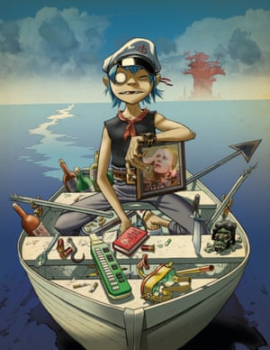 Album artwork for Gorillaz' Plastic Beach 2010