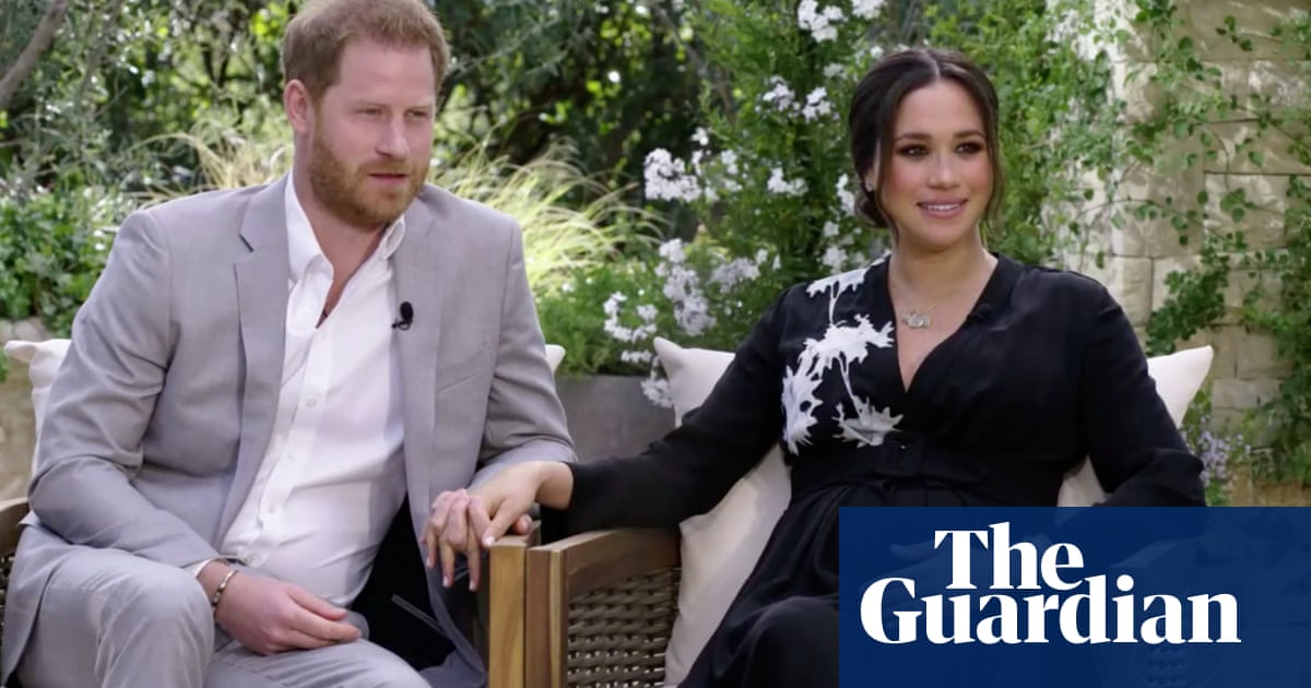 'I didn't want to be alive any more': Harry and Meghan describe racism and royal animosity in Oprah interview