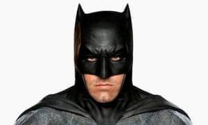 Ben Affleck as Batman in Batman V Superman: Dawn of Justice.