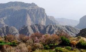 View of Jebel Akhdar, Oman