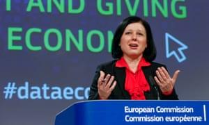 EU Justice Commissioner Vera Jourova: