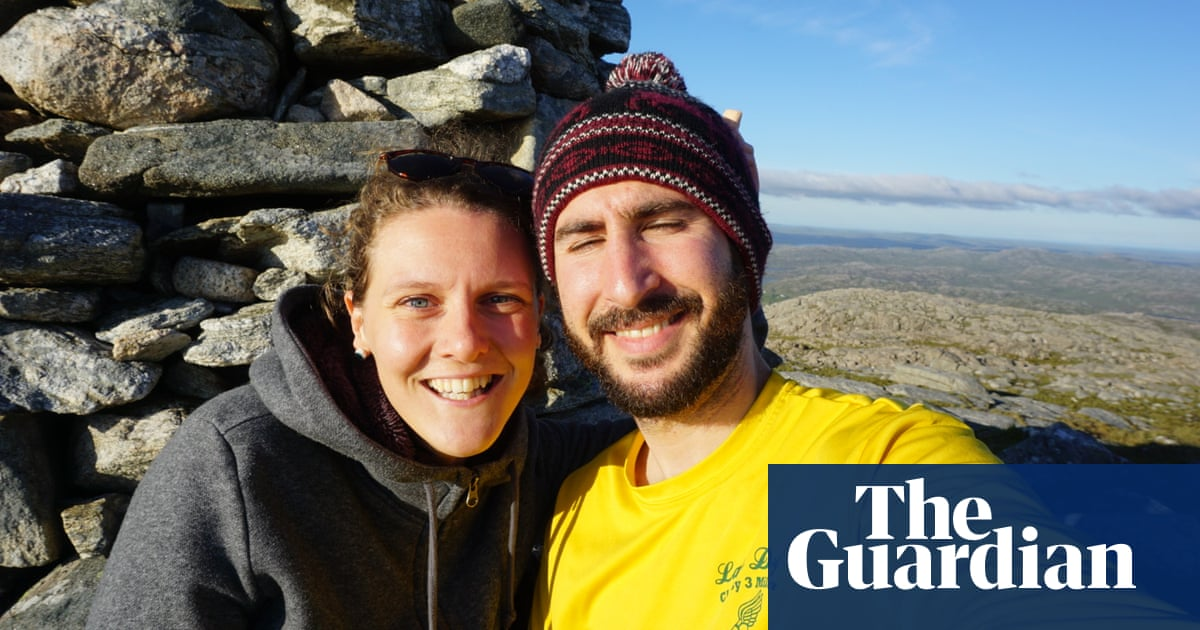 How we met: 'After two weeks, we were living together'