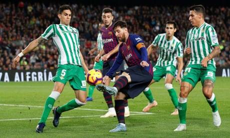 Real Betis v Barcelona: La Liga live!