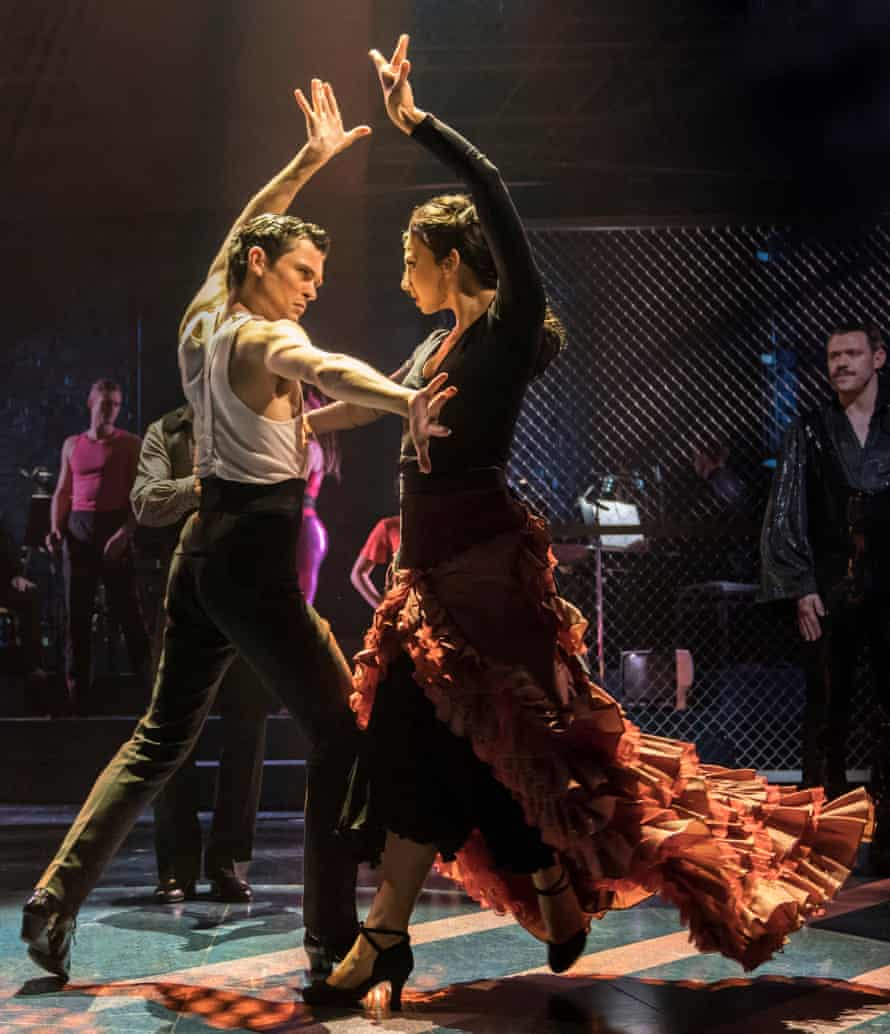 Jonny Labey and Zizi Strallen in Strictly Ballroom The Musical