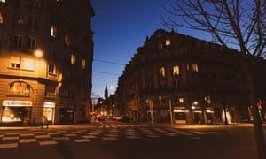 Wintry world … Strasbourg.