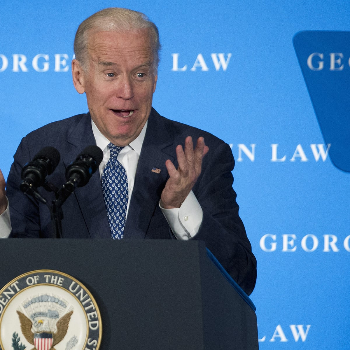 I am a gaffe machine': a history of Joe Biden's biggest blunders   Joe Biden   The Guardian