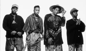 'Philosopher poets': A Tribe Called Quest featuring Phife Dawg, far right