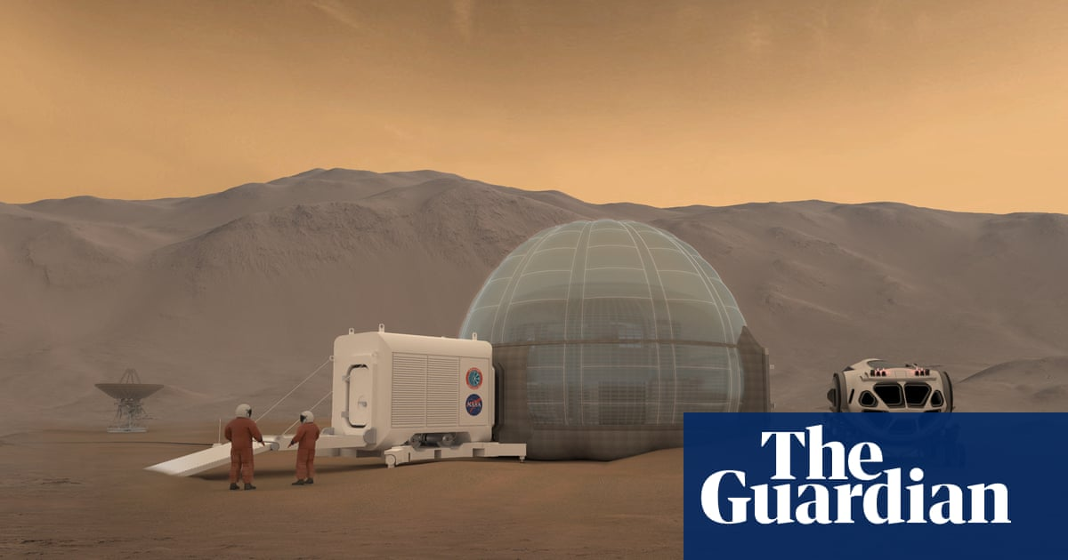 The case against Mars colonisation   Science   The Guardian