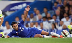 Radamel Falcao has not featured for Chelsea since the end of October because of a thigh injury.