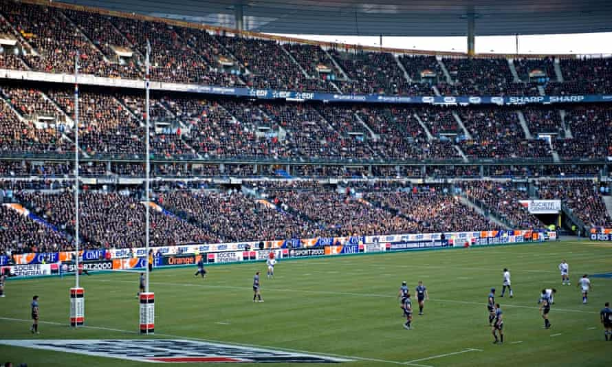 Stade de France during the 2009 6 nations rugby match between Scotland and France.