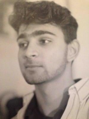 Mohsin Hamid at Princeton, 1991.
