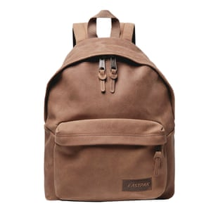 waxed leather brown backpack by Eastpak from Mr Porter