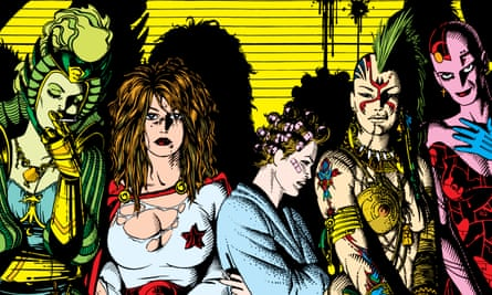 Daring stories … an early Love and Rockets cover.