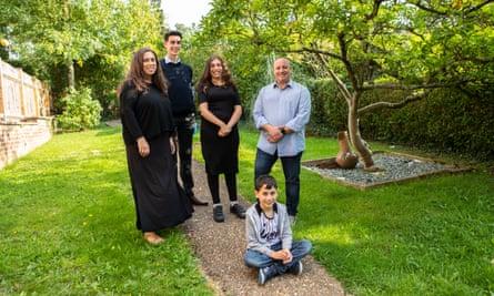 The Shorrick family.