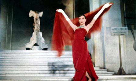 Hepburn in Funny Face, 1957.